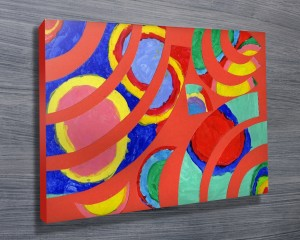 Delaunay - Inspired by Sonia Canvas