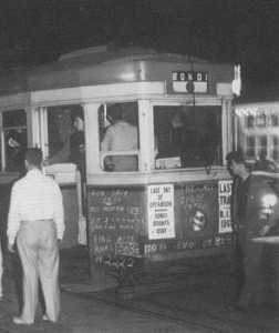 Last of the Bondi trams