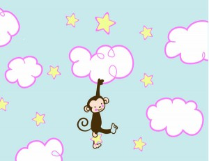 Monkey on the clouds sm