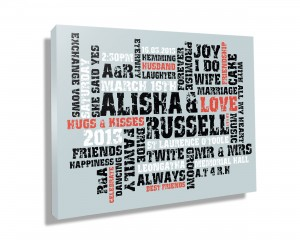 personalised art, customsed canvas prints