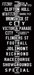 Melbourne Tram scroll banner