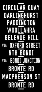 Sydney Tram scroll