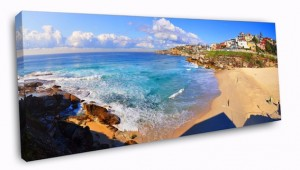 Tamarama Panorama canvas